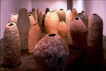 現代美術の手法 「和紙のかたち展」カタログより練馬区立美術館 1997年